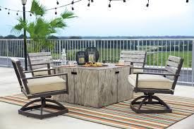 Propane Fire Pit Sets With Chairs Laurel Foundry Modern Farmhouse Lilah Polyresin Propane Fire Pit