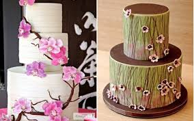 edible wedding cake decorations cherry blossom wedding cake decorations the wedding
