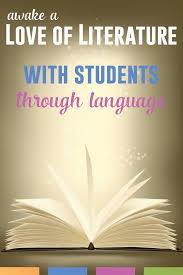connecting grammar and literature language arts classroom
