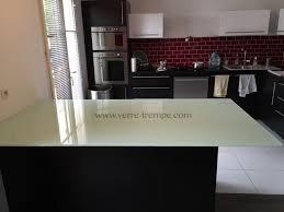 table de cuisine en verre trempé verre trempé sur mesure prix verre trempé sur mesure