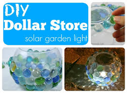 solar globe lights garden diy dollar store solar garden globe light