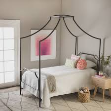Metal Canopy Bed The Curated Nomad Bailey Size Metal Canopy Bed Free