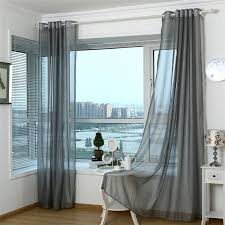 Light Grey Sheer Curtains Magnificent Sheer Grey Curtains And Light Grey Sheer Curtains