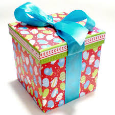 pre wrapped gift box the adventures of pam frank how to dress up a pre wrapped gift box