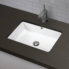 bathroom sinks decolav lilli classically redefined ceramic rectangular undermount