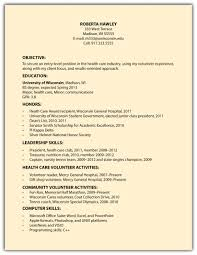 Resume Objective For Undergraduate Student Sample Resume Format For Fresh Graduates Two Page Format Ascend