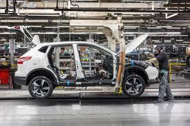 nissan qashqai honest john uk car industry production down for third month in a row auto