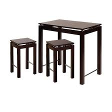 kitchen island table with stools 3 kitchen island with 2 stools wood espresso winsome