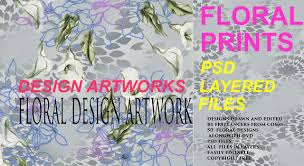 Floral Prints by Floral Prints U0026 Design Artworks Vol 1 Psd Layered Files Youtube