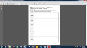 Sustained Silent Reading Worksheet January 2013 Language Arts Blog