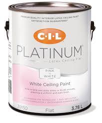 cil platinum interior paint pink to white ceiling 3 78 l