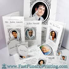 funeral programs printing vintage loop theme fast funeral printing funeral programs