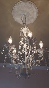 Small Chandelier For Nursery Bedroom Remarkable Stunning White Wall And Charming Girls Room