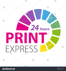 color scale printing services express print stock vector 416318917
