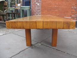 butcher block coffee table reclaimed marylouise parker org
