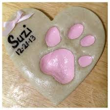 25 unique pet paw print ornament ideas on pet