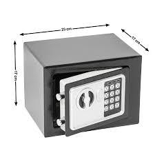Esszimmerst Le B Ware Elektronischer Safe Geldschrank 17x23x17cm Möbeltresor Wandsafe B