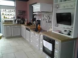 peindre une cuisine en gris comment moderniser une cuisine rustique eleonore déco