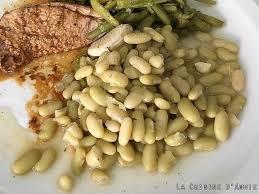 cuisiner les haricots blancs frais recette flageolets ou haricots blancs secs au jus la cuisine
