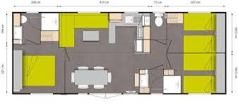 mobile home 3 chambres residentiel cing les grands pins sanguinet landes