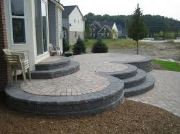 Raised Paver Patio Elevated Patio Designs History Of Brick Paver Raised Patio In