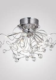 Modern Crystal Chandeliers Loco Modern Crystal Chandelier With 11 Lights Chrom Flush Mount