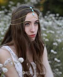 boho headbands 2018 boho headbands turquoise stones girl headwear 3