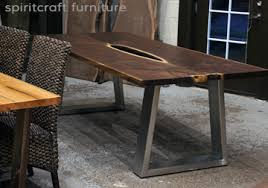 Quill Conference Table Live Edge Slab Dining Tables Walnut Slabs And Tops