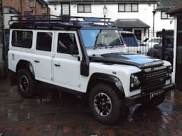 white land rover discovery land rover defender 110 adventure edition station wagon surrey
