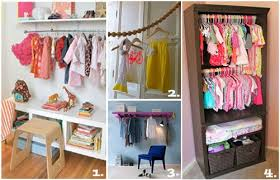 kid friendly closet organization top 10 storage solutions for kids bedrooms without closets