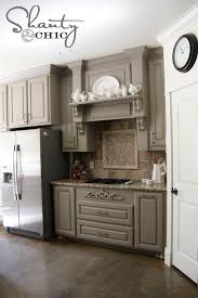 Remodelaholic Grey And White Kitchen Makeover - Gray kitchen cabinets