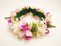 headband flowers tropical multi flowers headband haku alohaoutlet