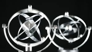Physics Desk Toys Close Up Of Newton U0027s Cradle Desk Toy Pendulum Being Activated