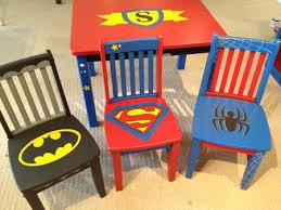 Children S Lego Table Superhero Chairs Instead Of Children U0027s Chairs Find Thrift Store