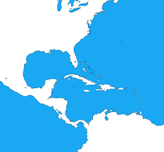 Blank Map Of Spain by Blank Map Of The Caribbean By Dinospain On Deviantart