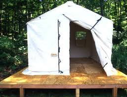 tent platform build a portable platform outdoor life