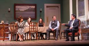 The Dining Room By A R Gurney by All In The Family Le Petit Theatre U0027s Dividing The Estate Huffpost
