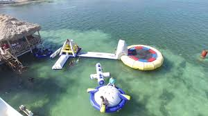 belize water park in san pedro ambergris caye youtube