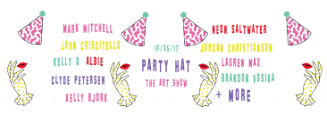 party hat the art show at party hat in seattle wa on thu oct