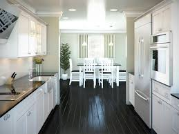 kitchen cabinets galley style this is a nice galley style kitchen i like the black floor but i