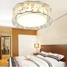 Moon Light For Bedroom by Shower Ceiling Lights With Glass Shade Moon Patterned