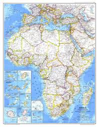 africa map map national geographic africa map 1980 maps