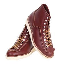 stylish and durable brown leather boots by lone wolf