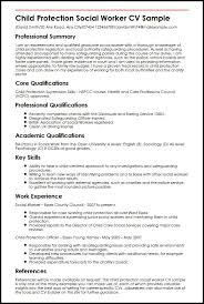 social worker resume exles child protection social worker cv sle myperfectcv