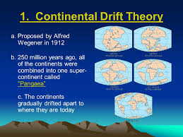 continental drift theory lessons tes teach