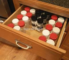 organizer corner spice rack spice drawer organizer spice rack