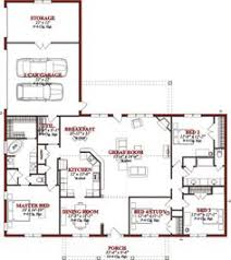 4 Bedroom Floor Plans For A House Ranch House Floor Plans 4 Bedroom Love This Simple No Watered