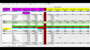 Track Expenses Spreadsheet Make A Budget With The Budget U0026 Expenses Spreadsheet Serving