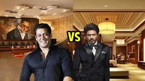 salman khan house vs shahrukh khan house which house is most