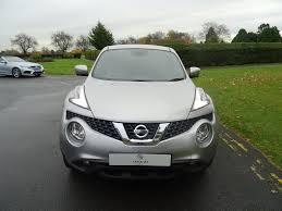 nissan juke grey used silver nissan juke for sale essex